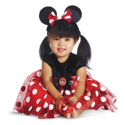 Disney® Minnie Mouse Baby Girls' Red Costume