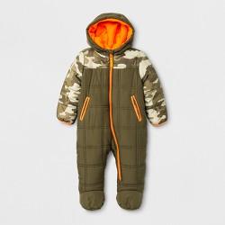 Minus Zero Baby Boys' Snowsuit - Olive