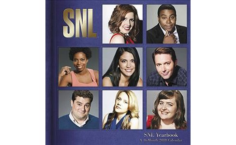 Saturday Night Live 2018 Calendar (Paperback) - image 1 of 1