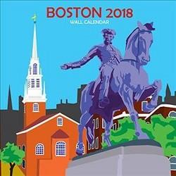 Boston 2018 Calendar (Paperback)