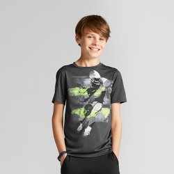 Boys' Graphic Tech T-Shirt - C9 Champion® Black