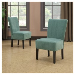 Dennis Armless Chairs (2 Pack) -  Handy Living