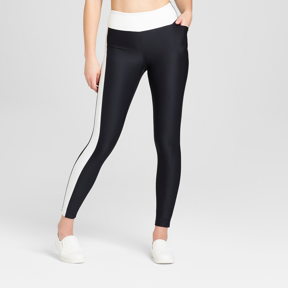Women's Performance Color Block Leggings - JoyLab Black Xxl
