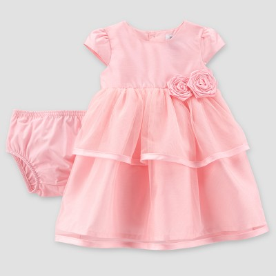 Baby Girls' Tulle Dress - Just One You® made by carter's Pink 6M