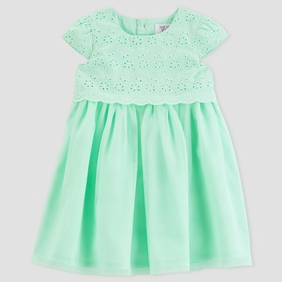 Baby Girls' Dress - Just One You® made by carter's Mint 9M