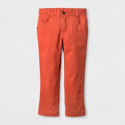Toddler Boys' Genuine Kids™ from OshKosh® Chino Pants - Orange - 12 M