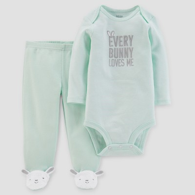 Babys' Every Bunny Bunny Set - Just One You® made by carter's Mint 6M