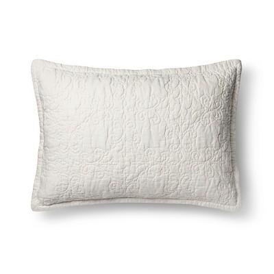 Sour Cream Pillow Sham (Euro)- Fieldcrest®