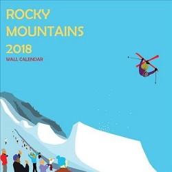 Rocky Mountains 2018 Calendar (Paperback)