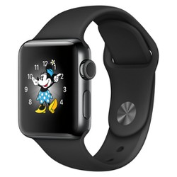 Apple® Watch Series 2 Stainless Steel Case Sport Band