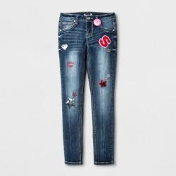 Seven7 Girls' Skinny Jeans - Indigo