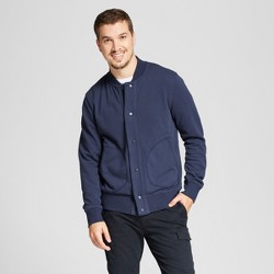 Men's French Terry Bomber Jacket - Goodfellow & Co™