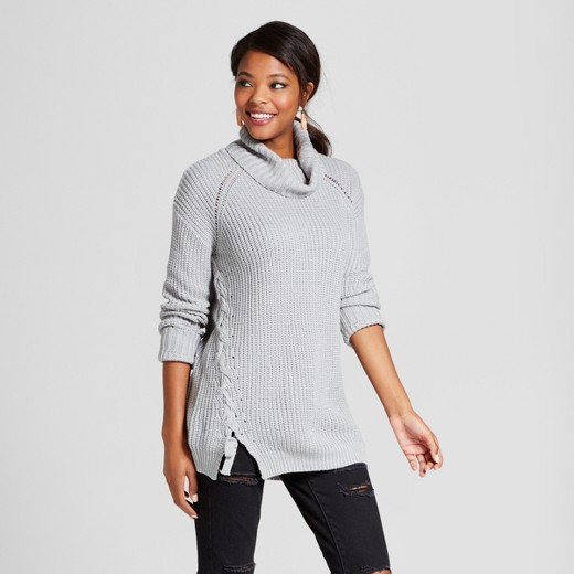 womens cowl neck sweater : Target