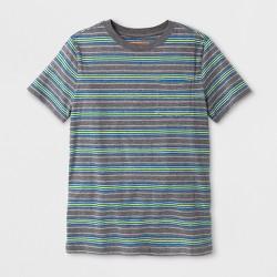 Boys' Pocket Short Sleeve T-Shirt - Cat & Jack™ Gray