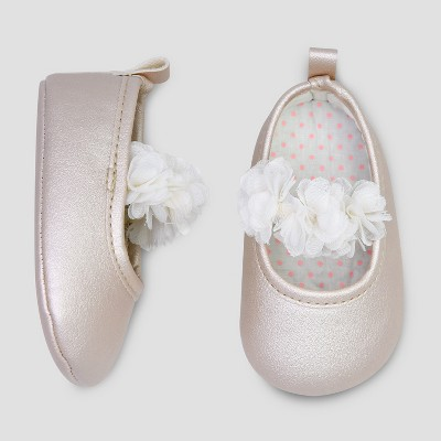 Baby Girls' Mary Jane Shoe - Just One You® made by carter's White 0-3M