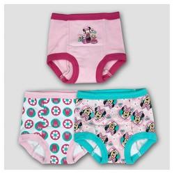 Toddler Girls' Disney® 3pk Minnie Training Pants