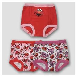 Toddler Girls' Disney® 3pk Elmo Training Pants