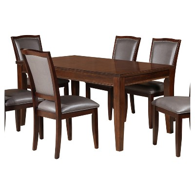 Amico Dining Table Walnut   Home Source Industries