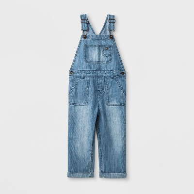 Toddler Boys' Genuine Kids™ from OshKosh® Overall - Stripe Blue - 12M