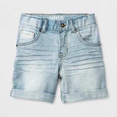 Toddler Boys' Genuine Kids® from OshKosh Denim Shorts -<br>Light Blue Wash 12 M