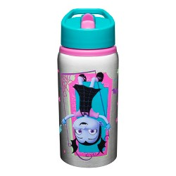Disney Vampirina Zak Designs Stainless Steel Water Bottle 19oz - Pink/Silver