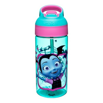 Disney Vampirina Zak Designs Plastic Water Bottle 17.5oz - Blue/Pink