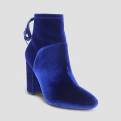 Women's Velvet Amber Bootie - Who What Wear™