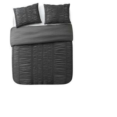 Silver Holly Technique Duvet Cover Set (King)3pc - VCNY Home®