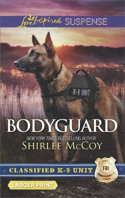 Bodyguard -  (Love Inspired Suspense (Large Print)) by Shirlee McCoy (Paperback)