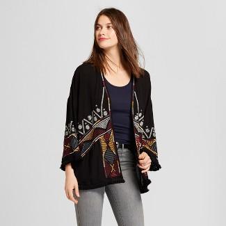 black kimono cardigan : Target