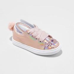 Toddler Girls' Cali Low Top Sneakers - Cat & Jack™ Rose Gold