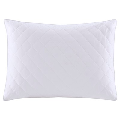 Quilted Feather Bed Pillows (Full/Queen)2pc White