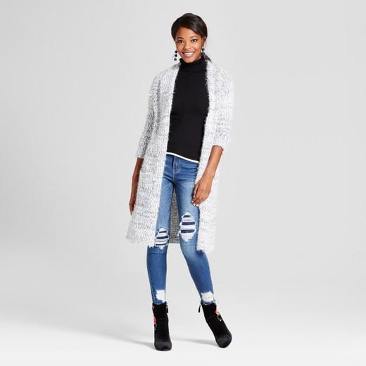 Women's Textured Open Cardigan - Love @ First Sight (Juniors ...