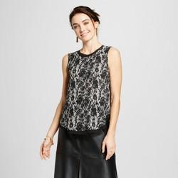 Women's Chiffon Layered Tank Top - Who What Wear™