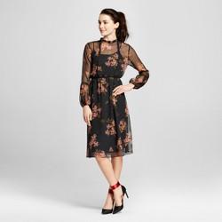 Women's Lace Trim Midi Dress - Who What Wear™