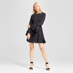 Women's Tiered Ruffle Cuff Mini Dress - Who What Wear™