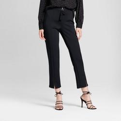 Women's Skinny Zip Track Trouser - Who What Wear™ Black
