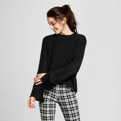 Women's Long Sleeve Tie Sweater - Who What Wear™