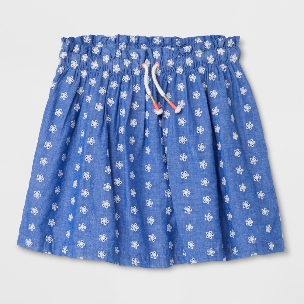 Girls' Floral Embroidered A Line Skirts - Cat & Jack Blue M Find Skirts at Target.com! Girls' Floral Embroidered A Line Skirts - Cat & Jack Blue M Gender: Female. Age Group: Kids. Pattern: Solid. Material: Cotton.