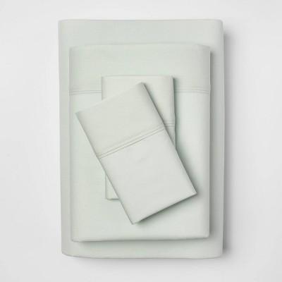 Organic Sheet Set (King)Gray Mint 300 Thread Count - Threshold™