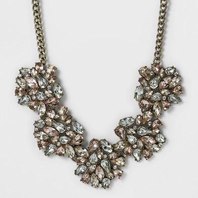view SUGARFIX by BaubleBar Crystal Bib Necklace on target.com. Opens in a new tab.