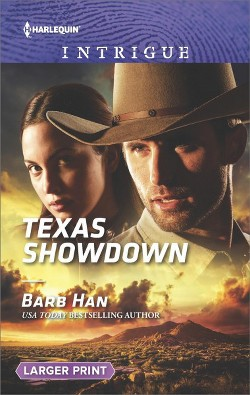 Texas Showdown (Large Print) (Paperback) (Barb Han)