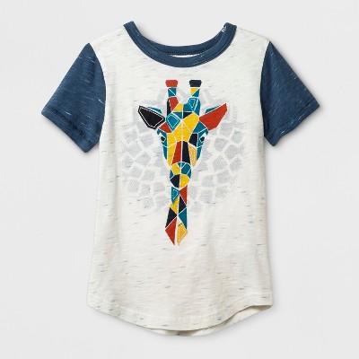 Toddler Boys' Genuine Kids™ from OshKosh® Graphic Short Sleeve T-Shirt - Cream 12 M