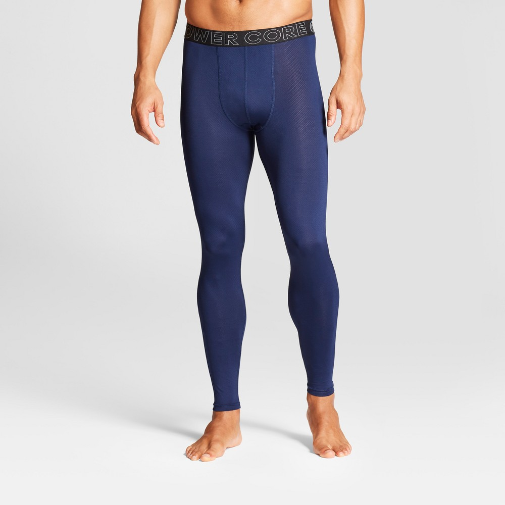 Men's Compression Tight Leggings - C9 Champion Dark Night Blue XL