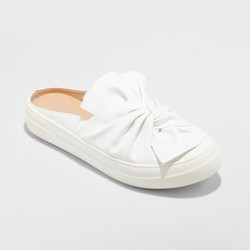 Women's Monisha Sneakers Knot Slip On Mule Backless - A New Day™
