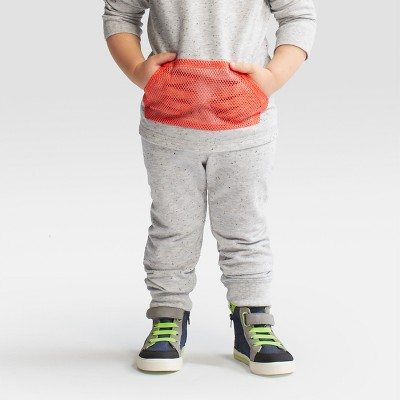 Toddler Boys' Jogger - Cat & Jack™ Heather Grey 18M