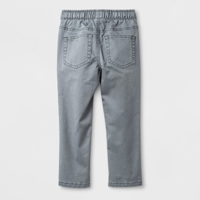 Toddler Boys' Pull-On Chino - Cat & Jack™ Gray - 18 Months