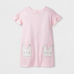 Girls' Stripe Easter Dress - Cat & Jack™ Pink