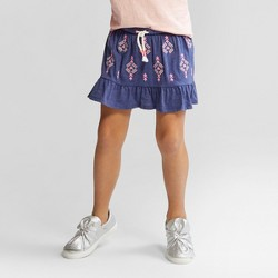Girls' Embroidered Scooter - Cat & Jack™ Navy