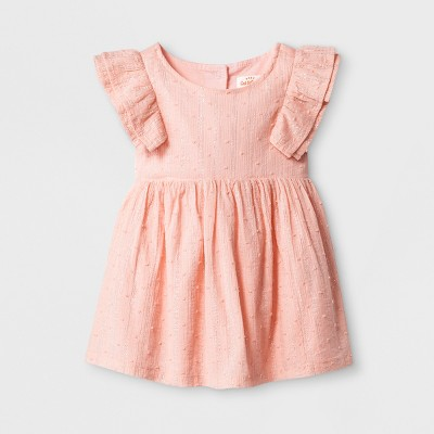 Baby Girls' A-Line Dress - Cat & Jack™ Pink 0-3M